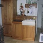 Küche in Barockstil Eiche