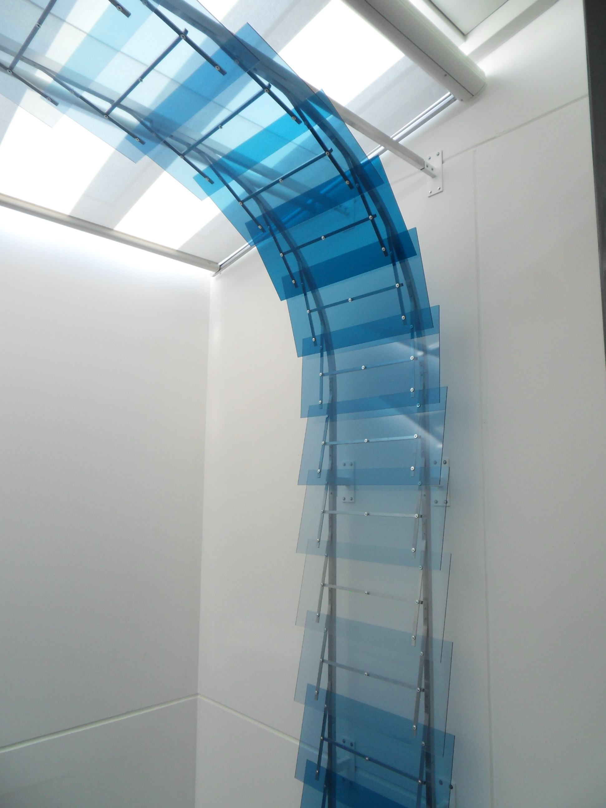 Plexiglas Deckenabwicklung