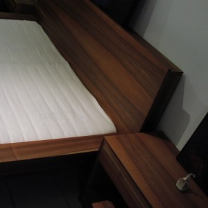 Nussbaum Bett Teilansicht